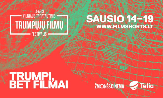 Baner reklamujący Wileński Międzynarodowy Festiwal Filmowy