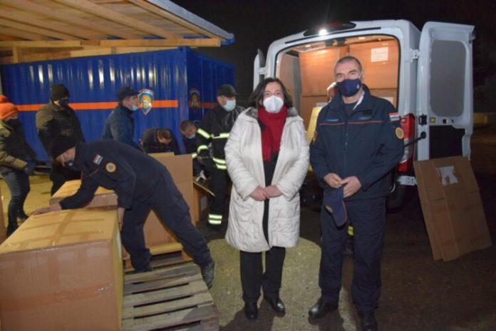 Do Chorwacji dotarła litewska pomoc dla ofiar trzęsienia ziemi