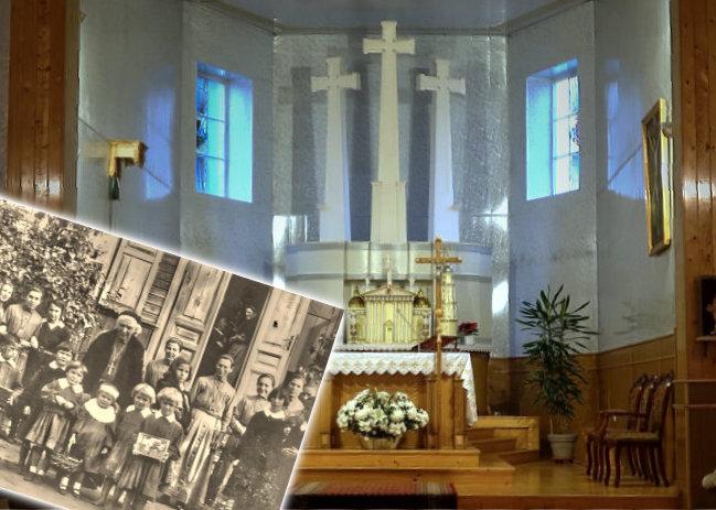 Transmisja Mszy Świętej z wyjątkowego kościoła w Czarnym Borze