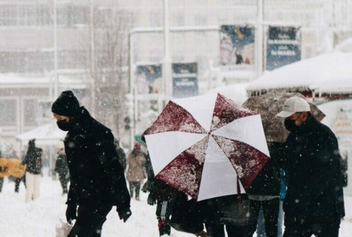 Meteorolodzy ostrzegają przed silnymi opadami śniegu