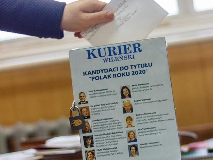 """Podsumowanie plebiscytu """"Polak Roku 2020"""" przesunięto do zakończenia kwarantanny"""