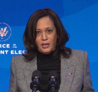 Wiceprezydent elekt Kamala Harris zostanie zaprzysiężona na stanowisko 20 stycznia 2021 r.
