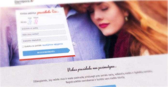 Wyciekły dane portalu randkowego darnipora.lt, policja wszczęła postępowanie