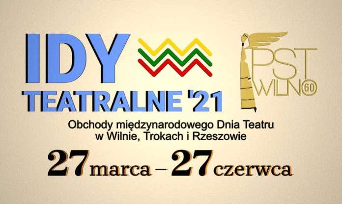 Plakat promocyjny Id Teatralnych