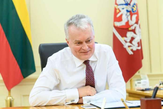 Prezydent Gitanas Nausėda