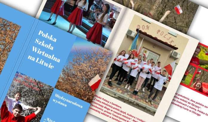 Polska Szkoła Wirtualna na Litwie opublikowała album z okazji 2 i 3 maja