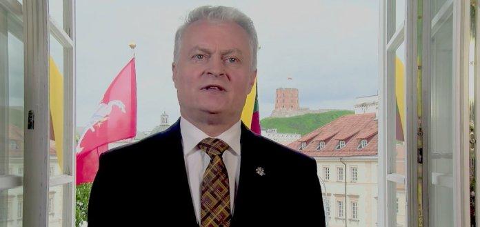 Prezydent Nausėda pozdrowił Gruzję z okazji Dnia Niepodległości