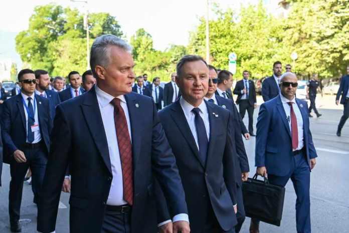 Spotkanie liderów Inicjatywy Trójmorza w Bułgarii, wspólna deklaracja polityczna