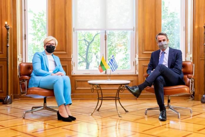 """Wizyta Šimonytė w Atenach. """"Grecja jest gotowa udzielić pomocy"""""""