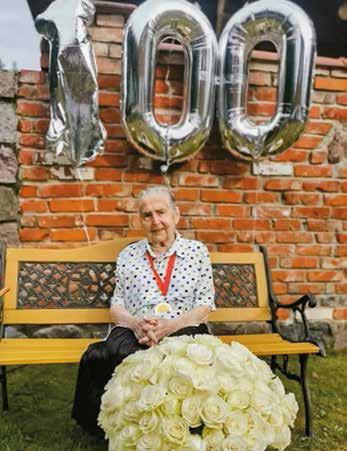 Helena Murawska, wieloletnia mieszkanka rejonu wileńskiego, skończyła 100 lat