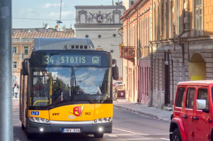Transport w Wilnie po kwarantannie: o czym powinni wiedzieć pasażerowie?