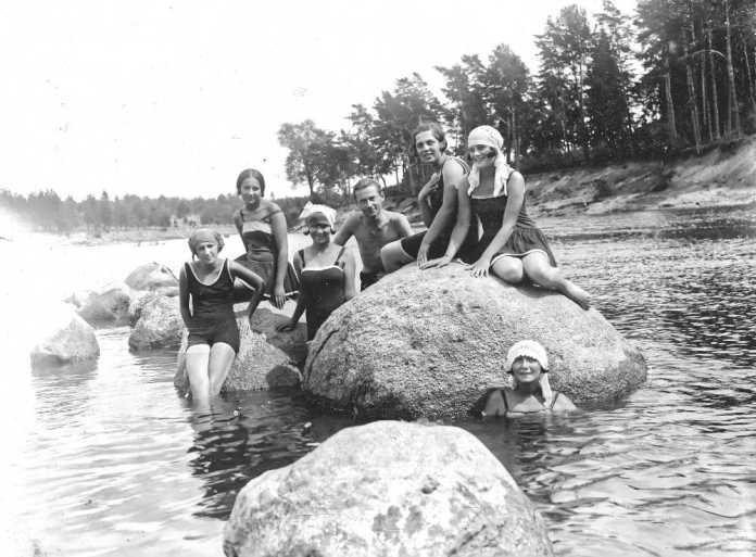 Podróż w czasie na wileńskie plaże. Jak wyglądały 100 lat temu?