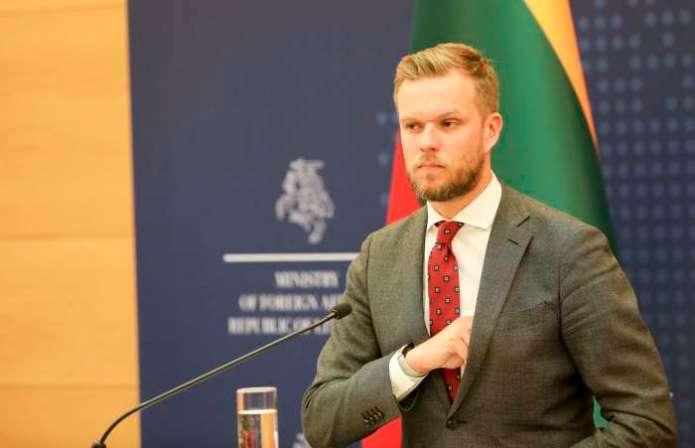 Landsbergis o jedności UE wobec  migracji z Afganistanu