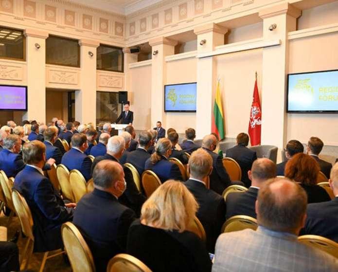 Nausėda otworzył trzecią edycję Forum Regionów. Wśród tematów niezależność samorządów