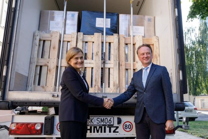 Polska przekazała Litwie drugą pomoc humanitarną [GALERIA]