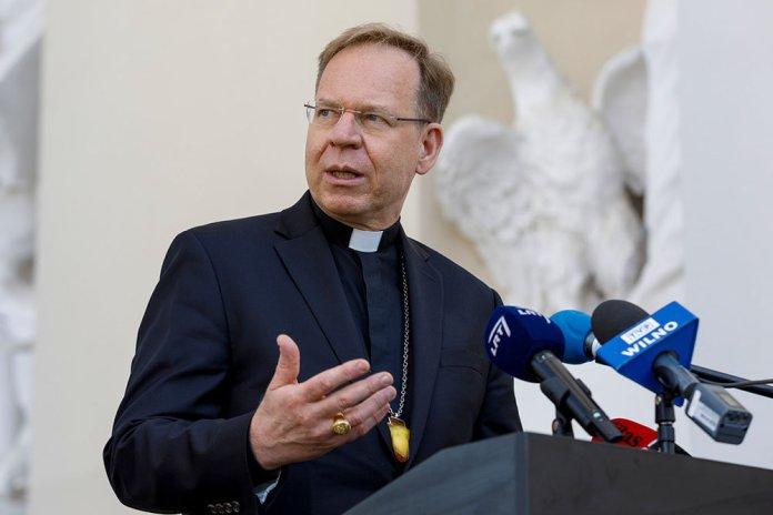 Wyróżnienie abp. Grušasa. Poprowadzi episkopaty Europy