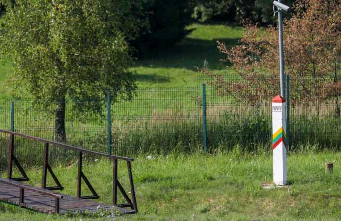 Strzały na granicy litewsko-białoruskiej