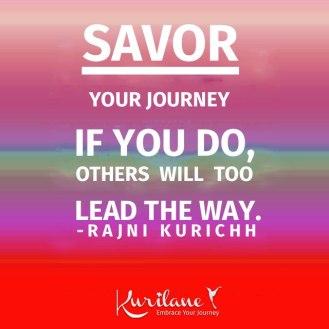 Savor Your Journey