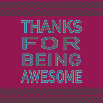 Thank you for joining me on my journey this year!