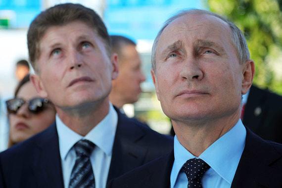 Вишенка на торте Приморских губернаторских выборов: столица ДФО переедет из Хабаровска во Владивосток