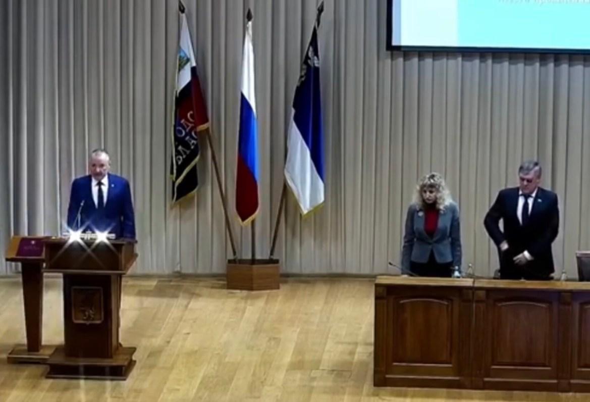 Новый мэр Белгорода принял присягу под заглавную тему из «Звездных войн»