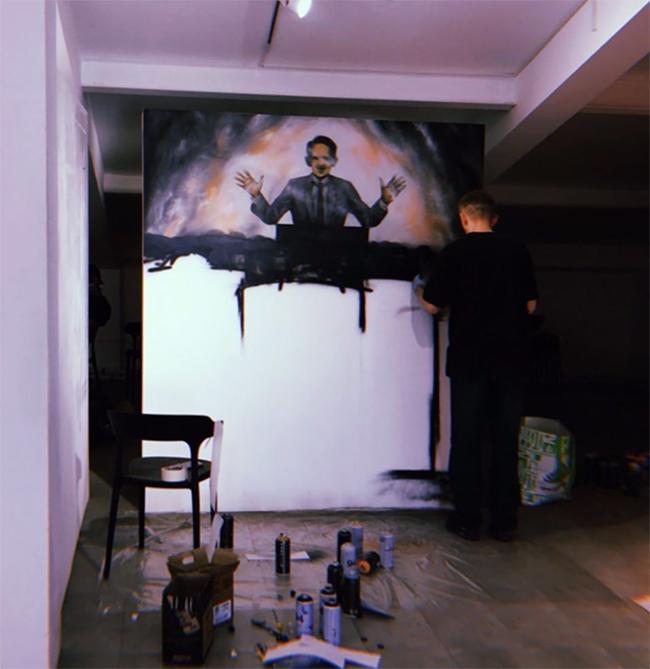Биробиджанский стрит-художник Илья Мерзляков участвует в проекте #неигнор хабаровской «Артсерватории»