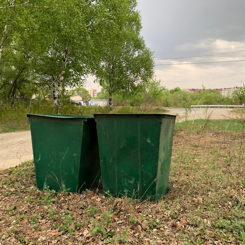 Эксперимент провален — мусорные баки на Невском умыкнули