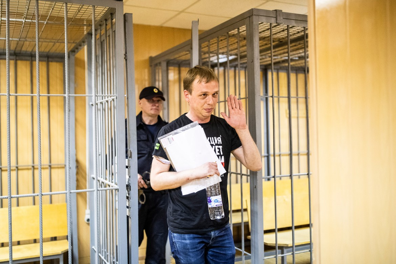 МВД сняло обвинения с Ивана Голунова