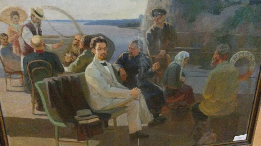 Антон Павлович Чехов заплывал в село Радде на пароходе в 1890 году