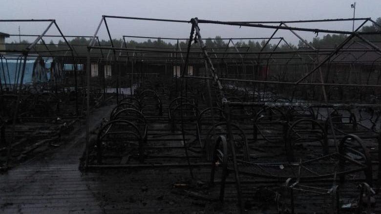 СК России показал, что осталось от лагеря «Холдоми» (ВИДЕО)