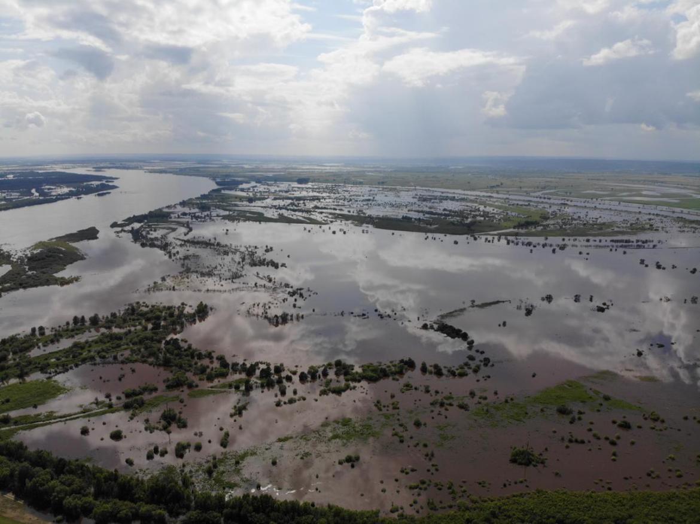 Амур спадает? Нет, гидрометеорологи прогнозируют рост уровня воды и ухудшение паводковой ситуации в ЕАО