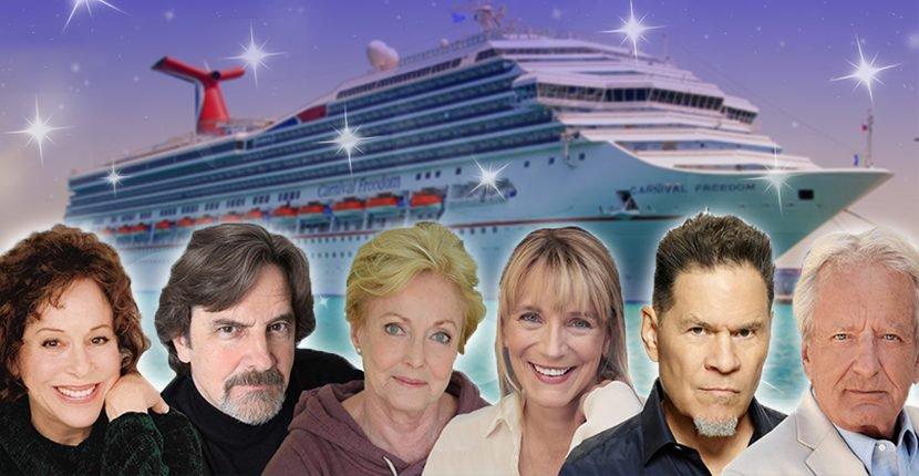 Мейсон, Круз, София и ещё трое из «Санта-Барбары» зовут с собой на тематический круиз в Карибском море
