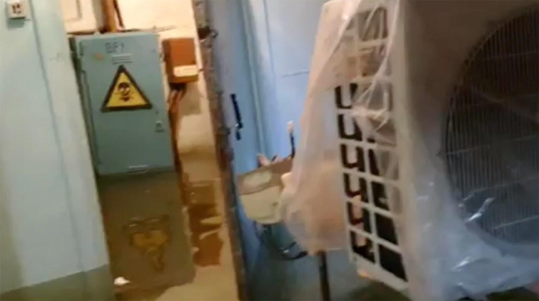 Храм святителя Николая Чудотворца в Биробиджане  затопило пуще прежнего