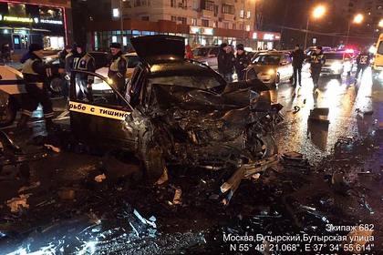 В Москве водитель BMW устроил массовое смертельное ДТП. За прошлый год ему выписали более 650 штрафов (ВИДЕО)