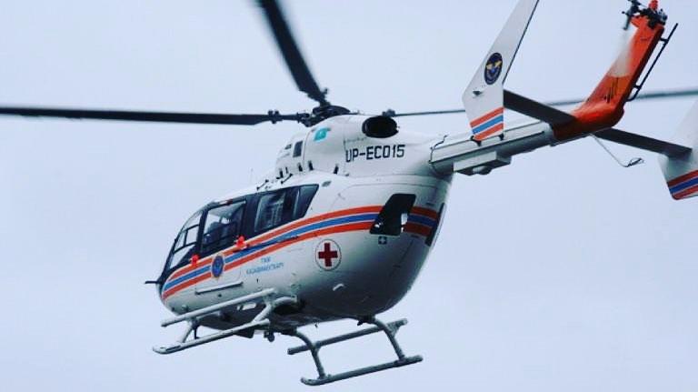 Трехлетнего малыша в тяжелом состоянии эвакуировали вертолетом санавиации из Амурзета в Биробиджан