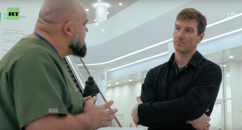 Russia Today (RT) и открытый российский гей сняли докьюментари про COVID-19 (18+)🦠