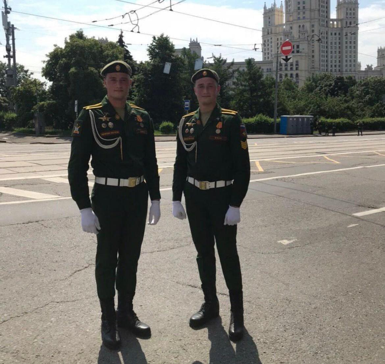 Выпускники гимназии № 1 Биробиджана участвуют в Параде на Красной площади