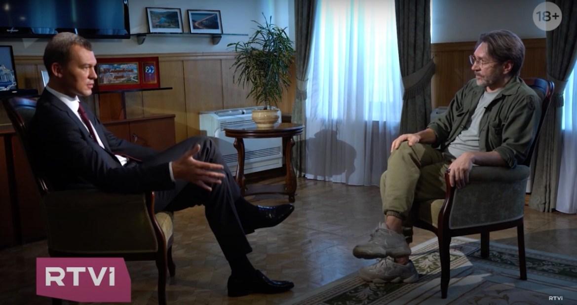 RTVi опубликовал интервью Шнурова с Дегтяревым