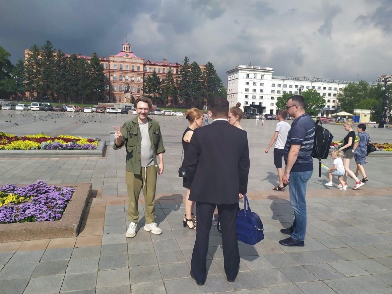 Михаил Дегтярев заявил, что выйдет к протестующим вместе с Сергеем Шнуровым