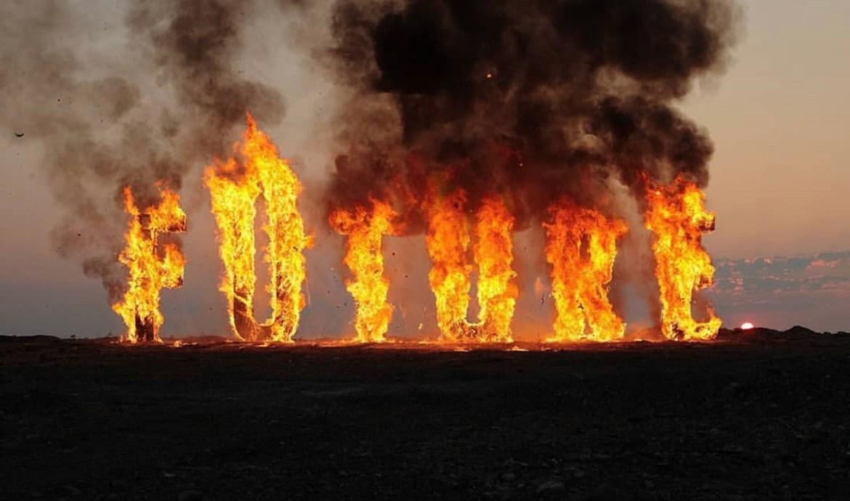 Будущее вспыхнуло и сгорело в арт-проекте «Future» уральского художника Артема Радя