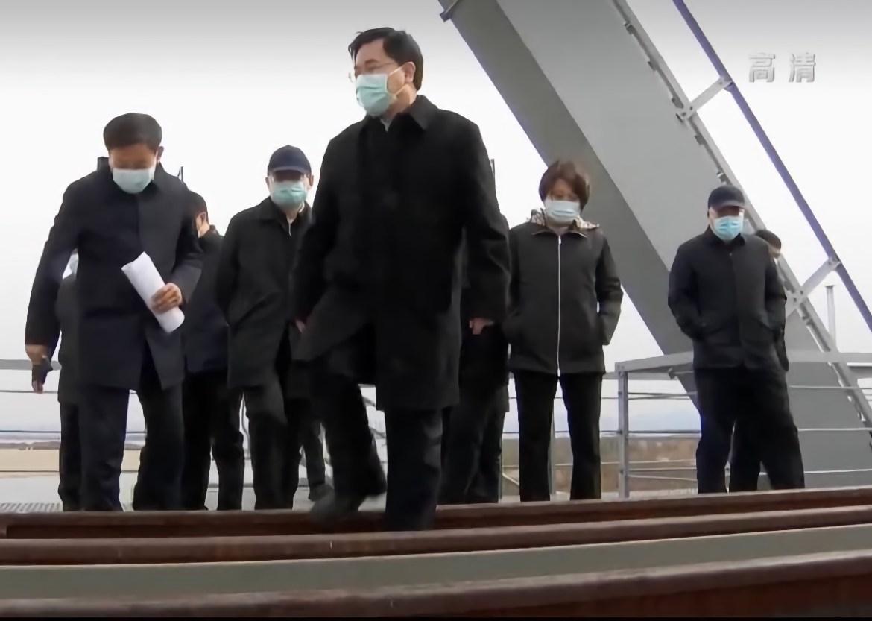 Новый губернатор провинции Хэйлунцзян посетил мост «Тунцзян-Нижнеленинское»
