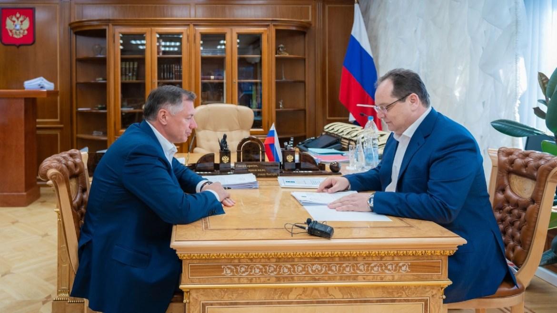 Заявлявший о нежелании заниматься ЕАО вице-премьер Марат Хуснуллин провел рабочую встречу с губернатором автономии Ростиславом Гольдштейном