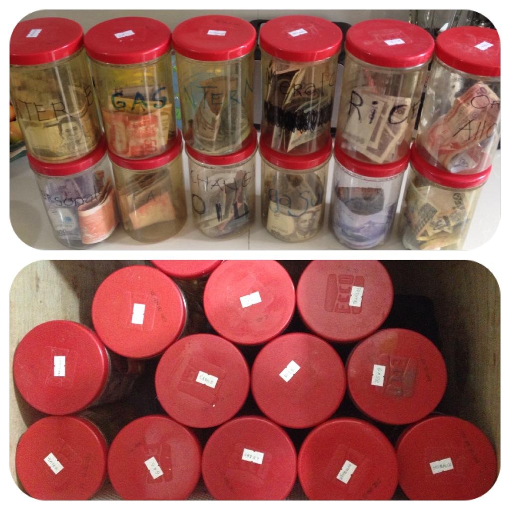 Introducing My Magic Money Jars