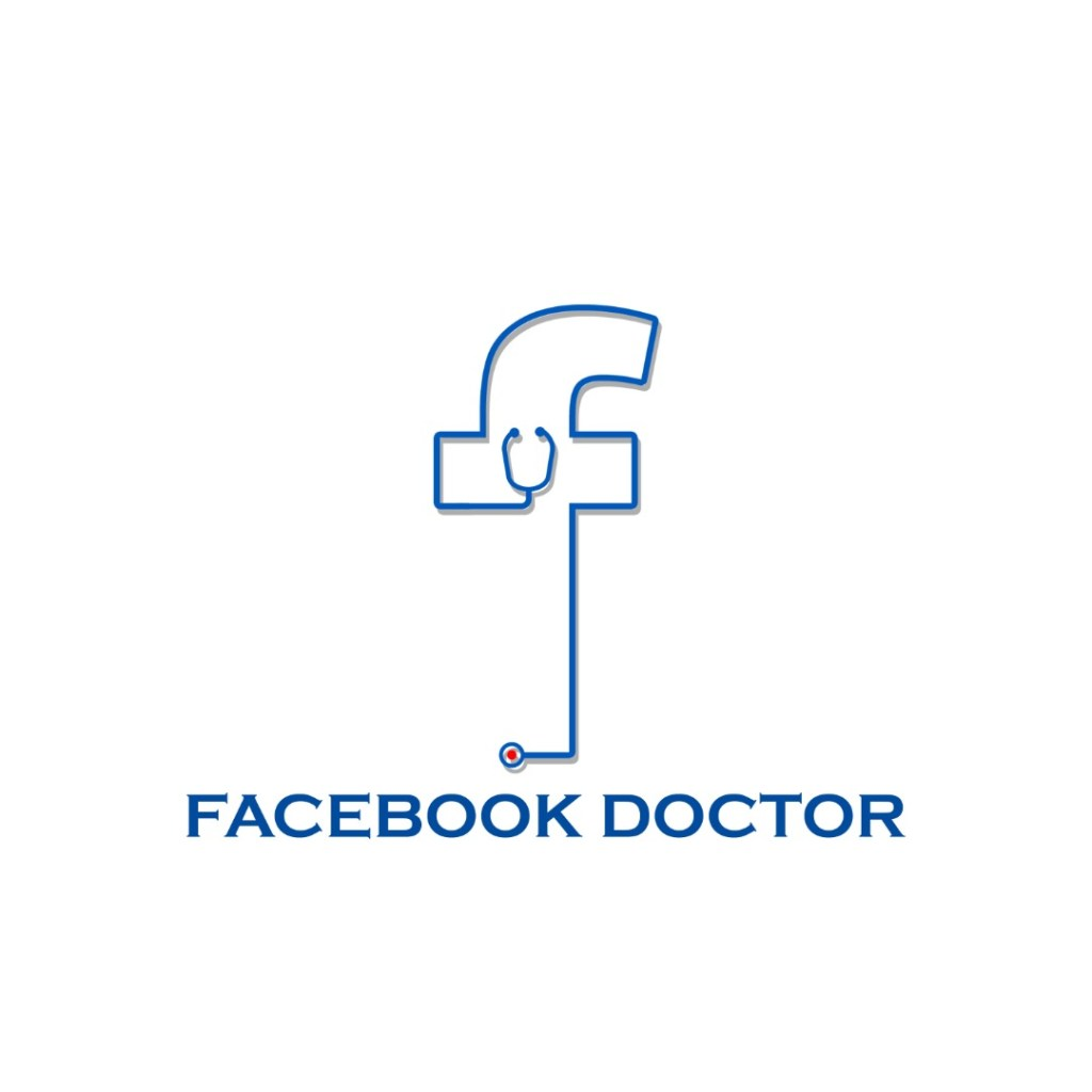 Logo Design for Facebook Doctor