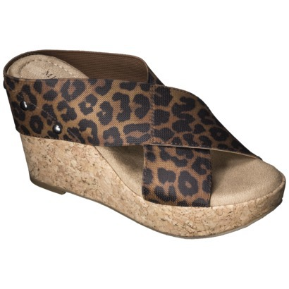 Nadia Wedge Cork Heels