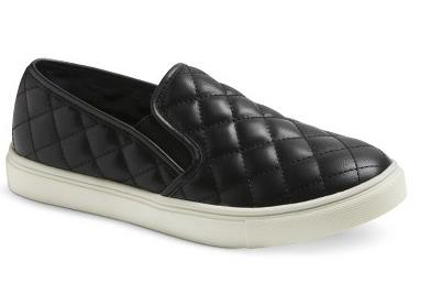Dedra Quilted Slip-on - Black