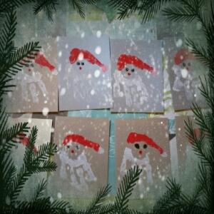 Individuelle Weihnachtskarten.Individuelle Weihnachtskarten Diy Kurmel Mal 5