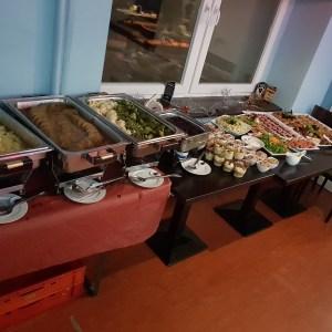 Buffet, Essen, Weihnachtsfeier, Kurmelmal5