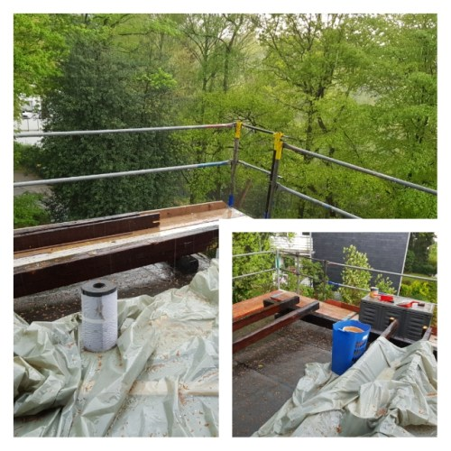 Balkon, Gewitter