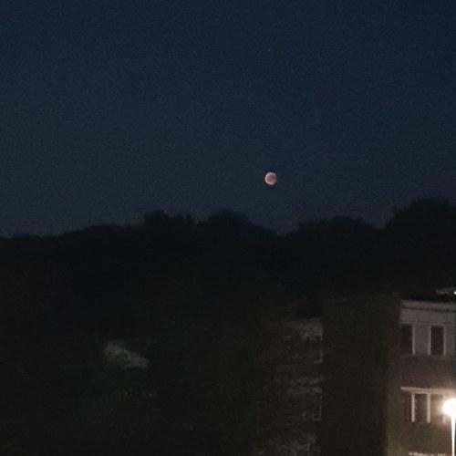 Mondfinsternis2018, Mondfinsternis, blutmond